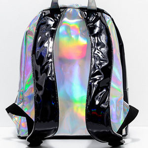 3384bd67d8 YRU Bags - Ying Yang Holo Holographic Mini Small Backpack Bag